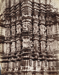 Carvings of Wamana temple at Khujraho